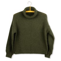 London sweater af Helga Isager<br>Str. S-XL