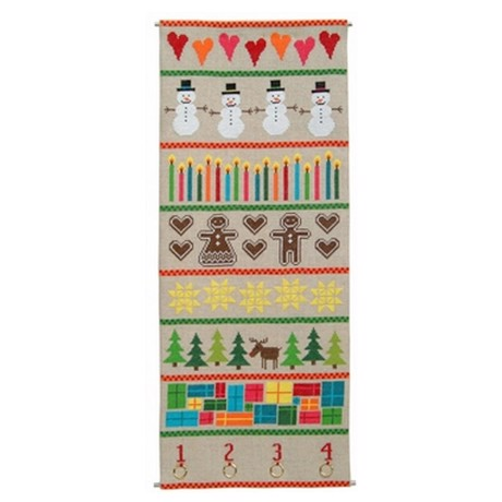 Julekalender, Colourful christmas adventskalender