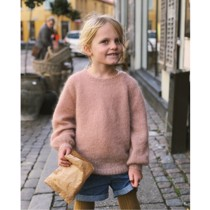 Novice sweater junior - mohair edition - PetiteKnit<br>Str. 1-14 år
