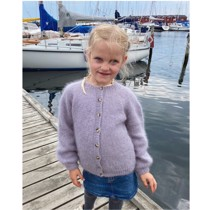 Novice cardigan junior - mohair edition - PetiteKnit<br>Str. 6-14 år