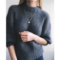 Saturday night sweater - PetiteKnit<br>Str. XS-XL