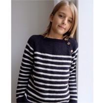 Seaside sweater junior<br>Str. 8-14 år