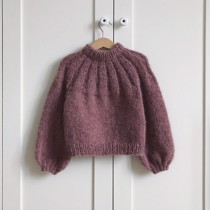 Sunday sweater junior - PetiteKnit<br>Str. 4-14 år