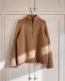 Zipper sweater - PetiteKnit<br>Str. XS-5XL